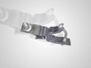 Braçadeira Giratória Produzida em aço mola forjado do tipo 5160, temperado e revenido. Possibilita prender dois tubos fazendo um ângulo reto entre si. Carga admissível: 8KN (Escorregamento com aperto de 8Kn) Peso por peça: 1,24Kg